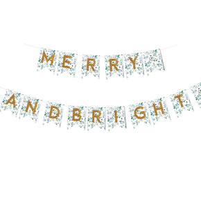 Christmas Bunting Print & Cut Template