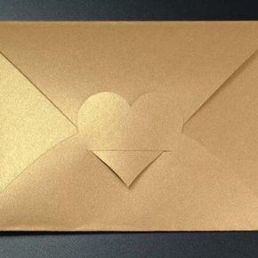Heart Top Envelope Template