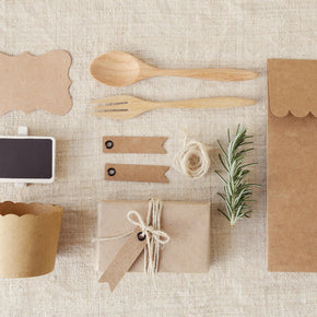 Kraft Party Set Templates