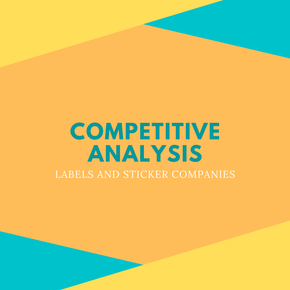 Labels and Stickers Competitive Analysis