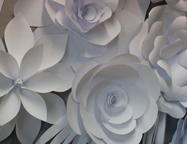 Rose Paper Flower Templates
