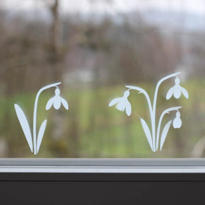 Snowdrop Decal Template