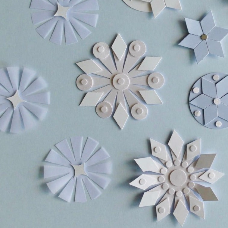 Snowflakes Arts and Craft Templates