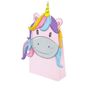 Unicorn Gift Bag Print & Cut Template