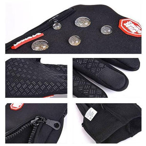 Tendaisy Warm Thermal Gloves Cycling Running Driving Gloves