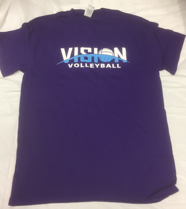 VISION Volleyball Purple T-Shirt