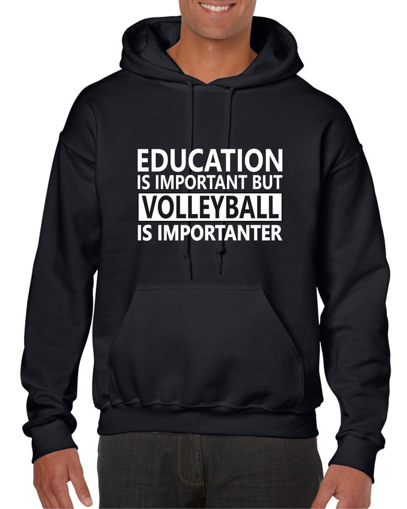 EDUCATION vs VOLLEYBALL HOODIE