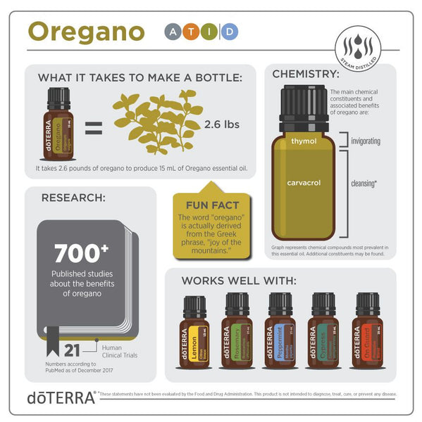 Oregano Essential Oil - Organic Boutique
