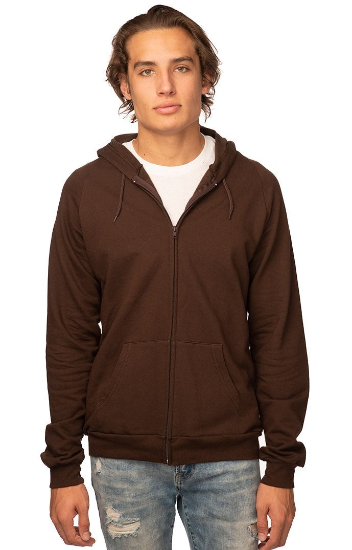Men's Zip Hoodie - Organic Boutique