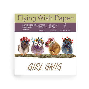 GIRL GANG  / Mini kit with 15 Wishes + accessories