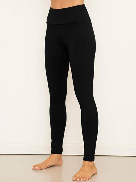 High Waist Legging - Organic Boutique