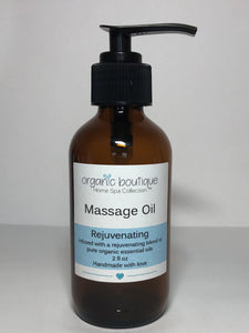Rejuvenating Body / Massage Oil