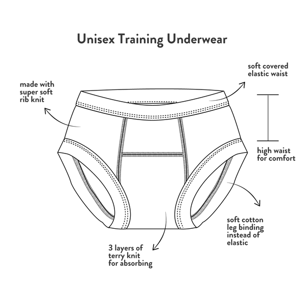 Cats in a Garden Potty Training Pants