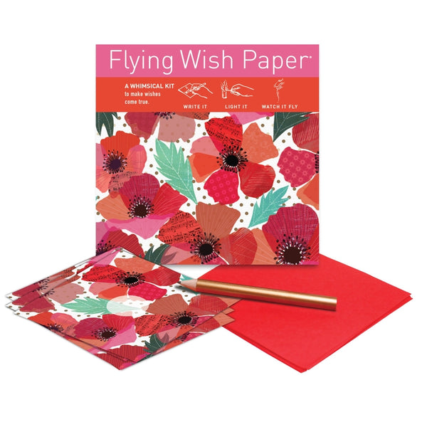 POPPIES  / Mini kit with 15 Wishes + accessories