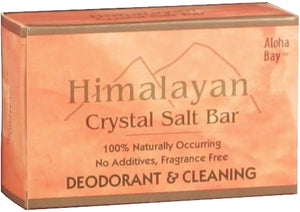 Himalayan Crystal Salt Bar Deoderant