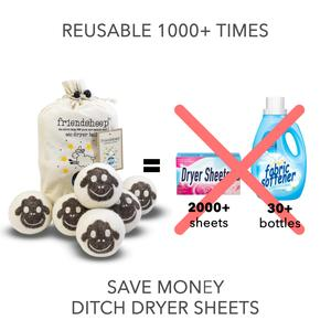 Panda Pack Eco Dryer Balls