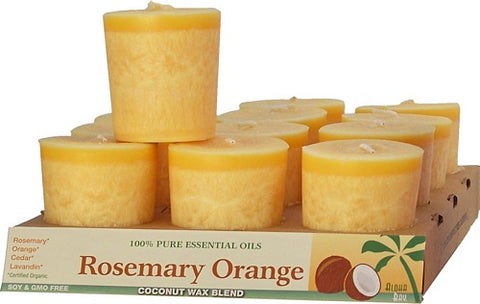 Coconut Votive Orange Rosemary Aloha Bay Candles