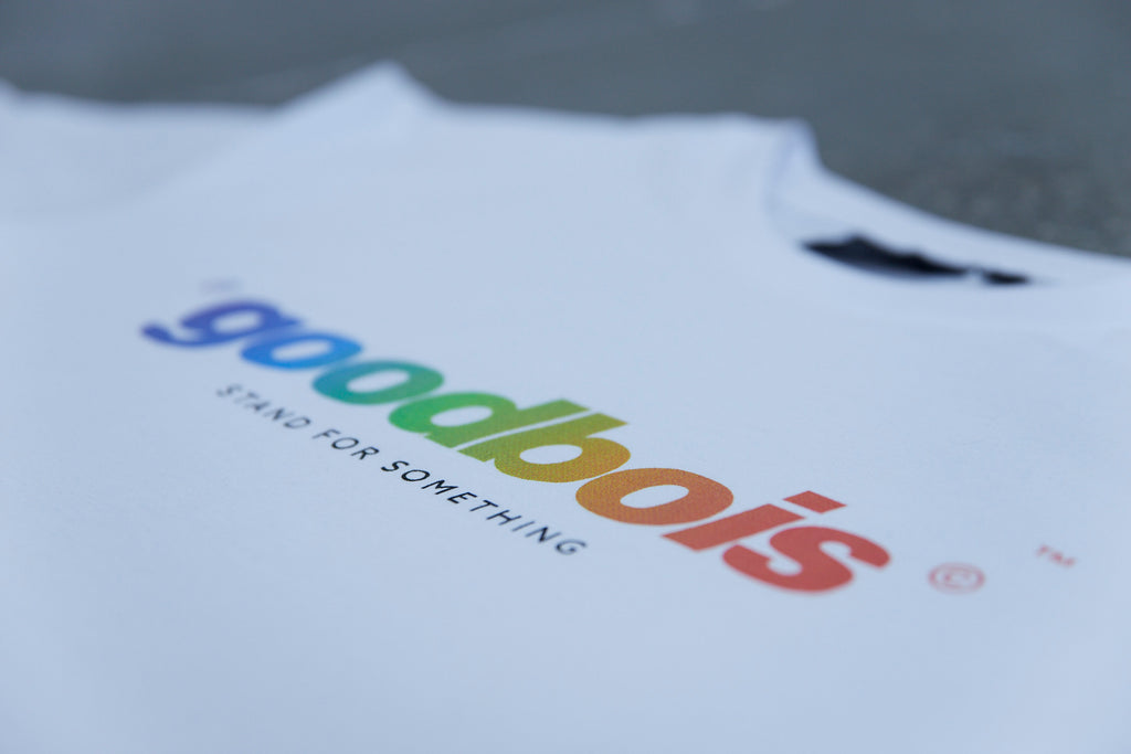 RAINBOW T-SHIRT WHT