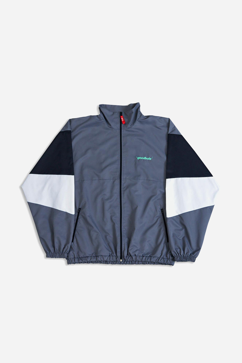 OFFICIAL TECH TRACK JACKET GRY