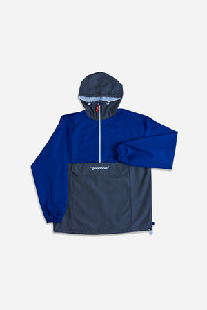 UNITED ANORAK BLU