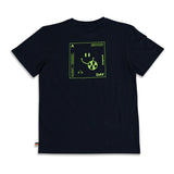 OFFICIAL SMILEY T-SHIRT BLK