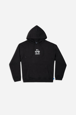 ALRIGHT HOODY BLK