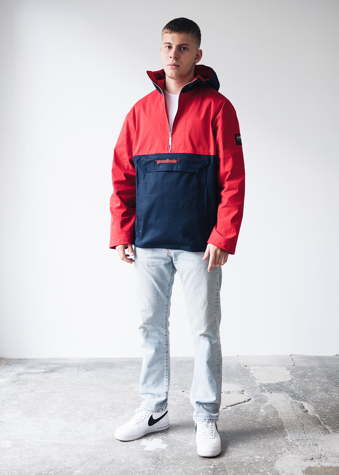 UNITED ANORAK RED