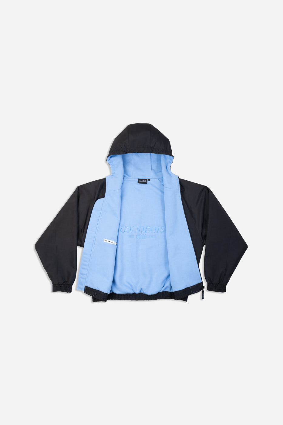 CRUZ HOODED JACKET ICE BLUE