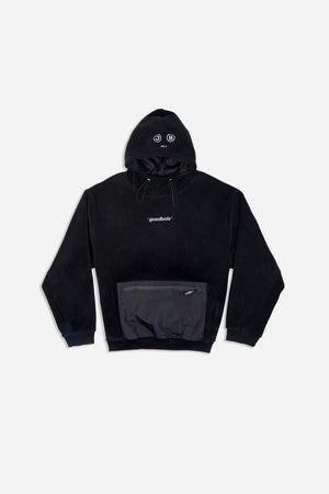 CLOUD FLEECE HOODY BLK