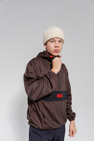 OFFICIAL CORE ANORAK BRWN