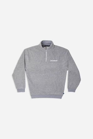 OFF FLEECE HALFZIP GRY