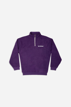 OFF FLEECE HALFZIP PURPLE