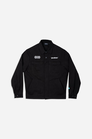 OFFICIAL WORKSHOP OVERJACKET BLK