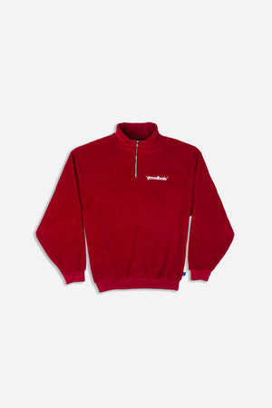 OFFICIAL FLEECE HALFZIP CREWNECK BGY