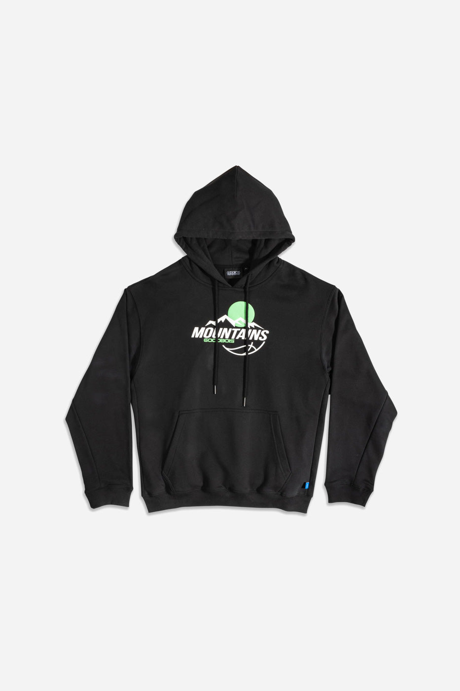 OUTDOOR SPORTS HOODY BLK