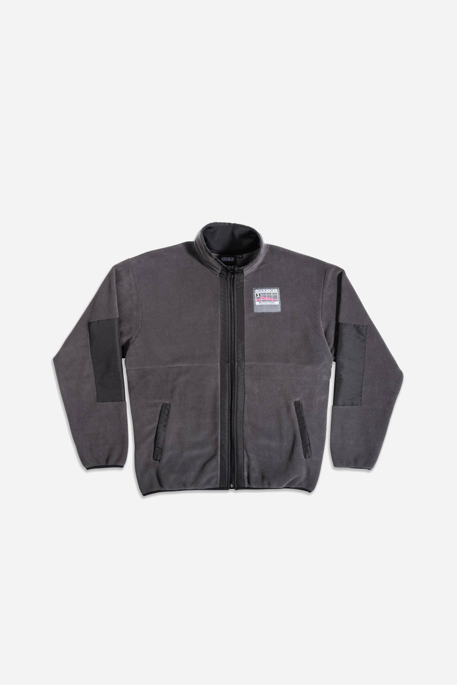 GEOTAG FLEECE FULLZIP JACKET GRY