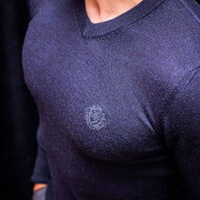 Load image into Gallery viewer, Merino Wool V-neck Sweater