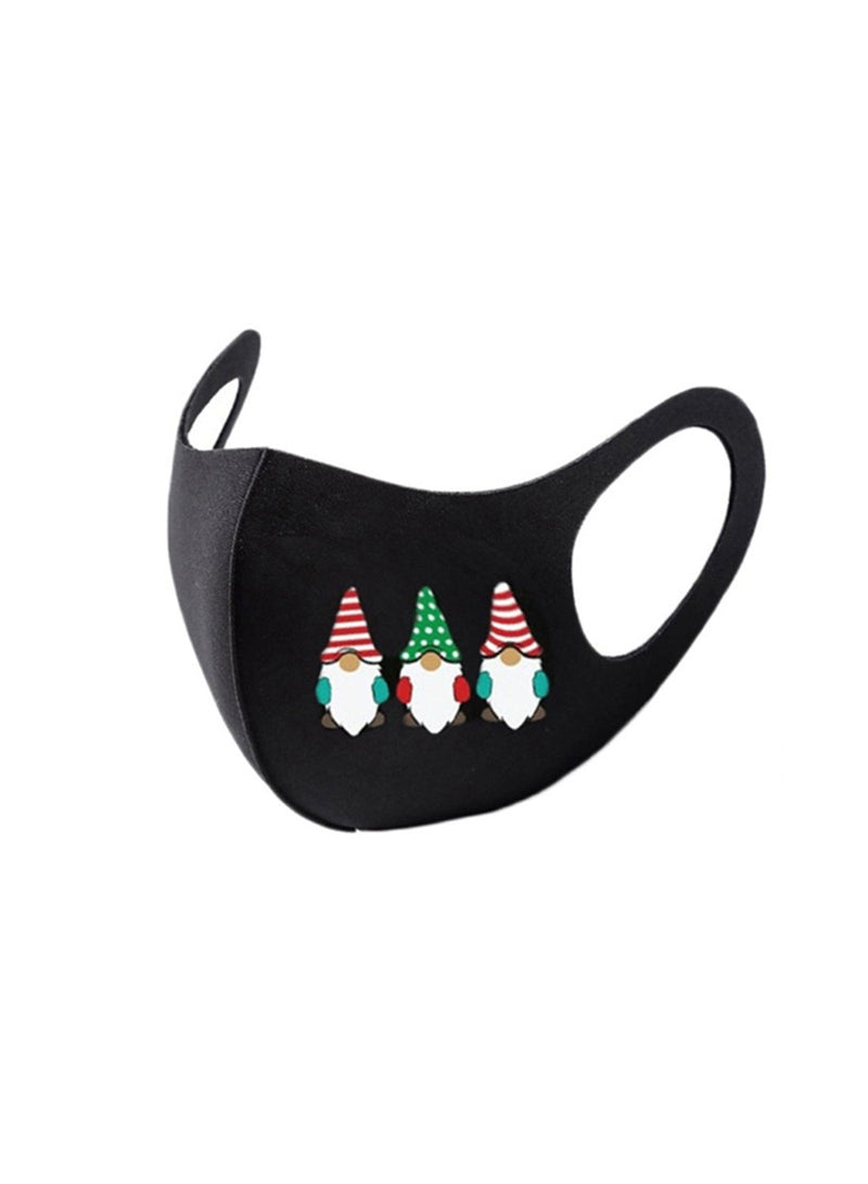 Adults' Mask Christmas Cotton Mask - Durrye