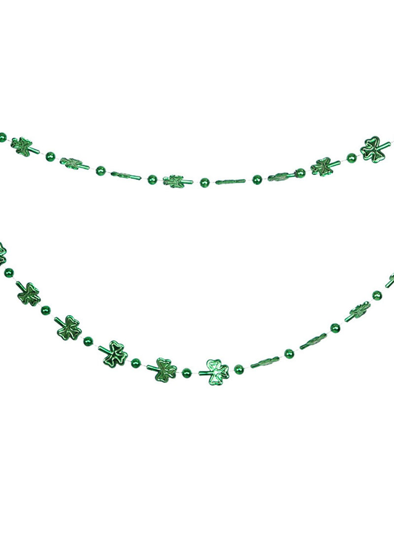 St. Patrick's Day Multicolor Clover Bead Chain - Durrye