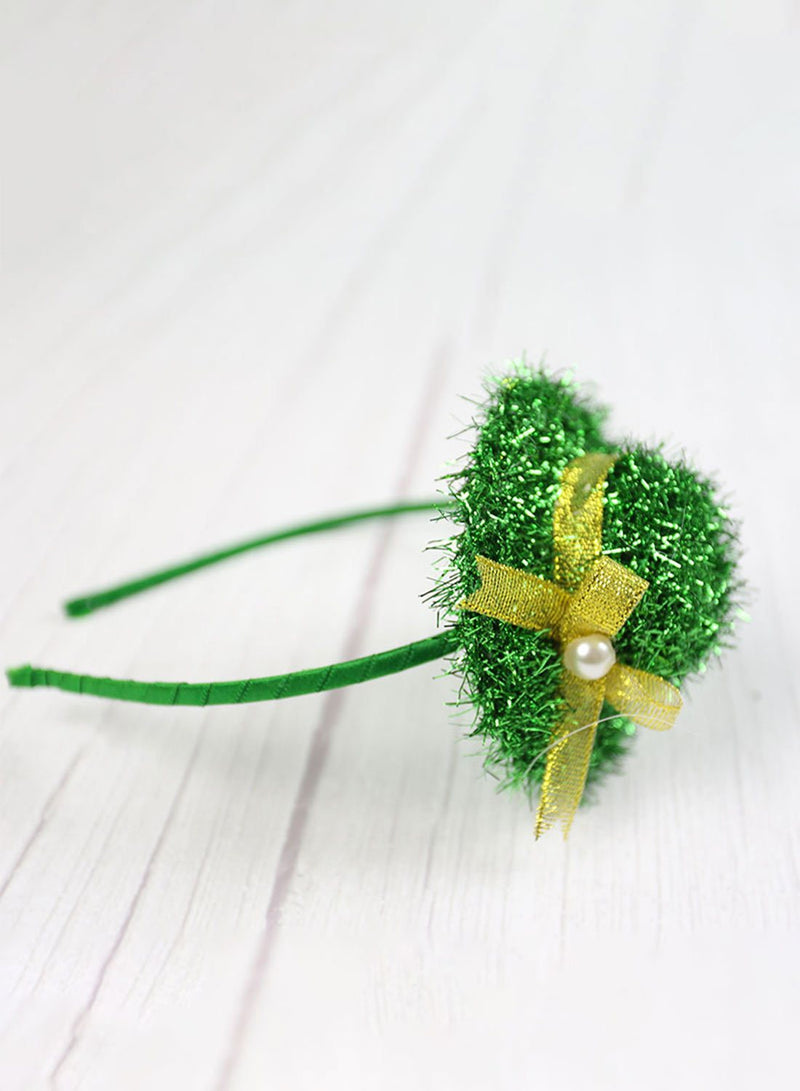St. Patrick's Day Solid Headband - Durrye