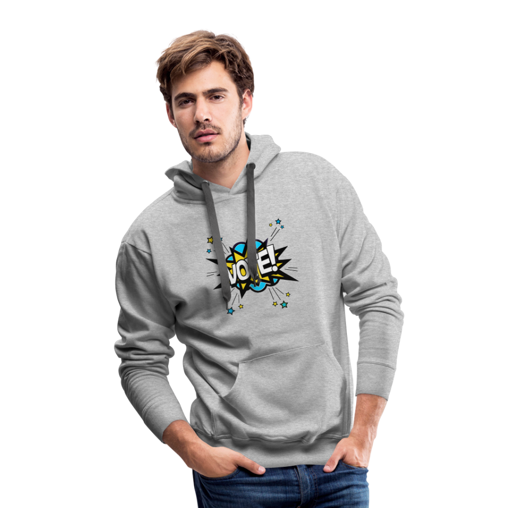 Bam - Men's Premium Hoodie - heather gray