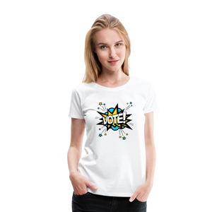Bam - Women's Premium T-Shirt - white