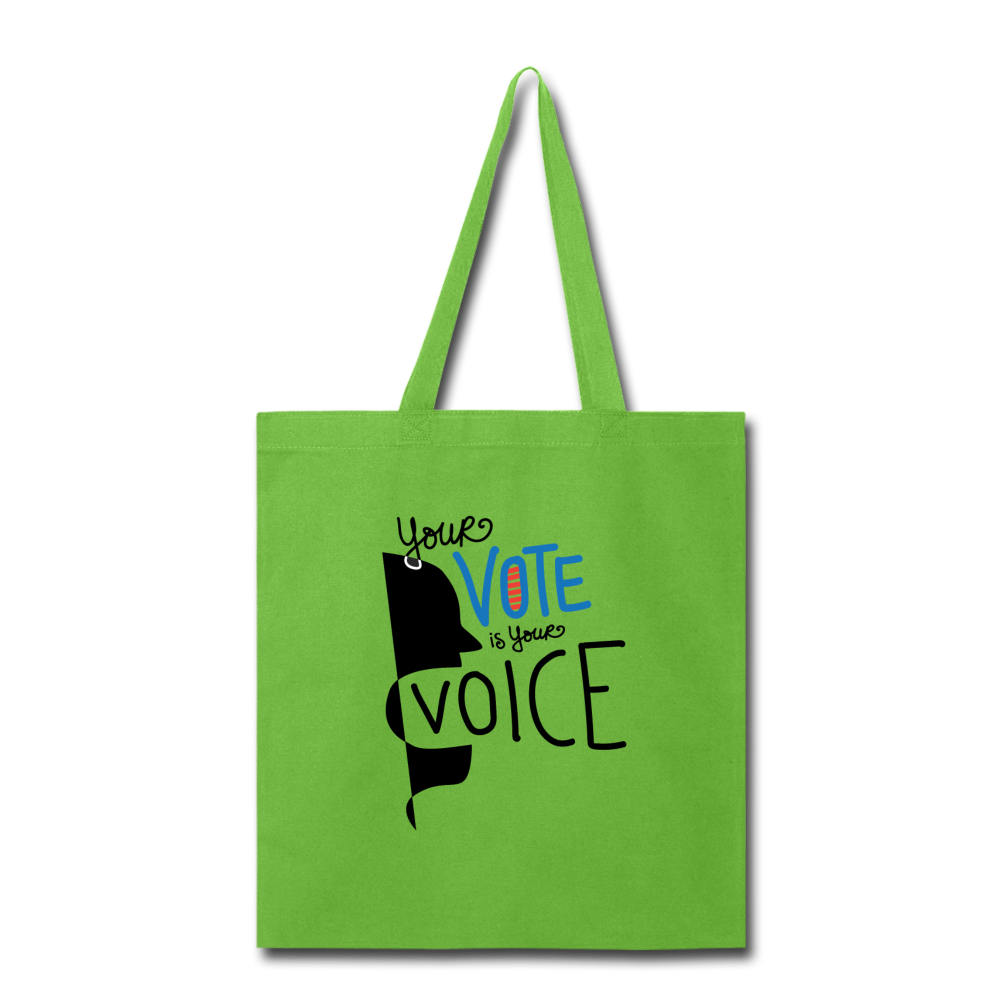 Shout - Tote Bag - lime green