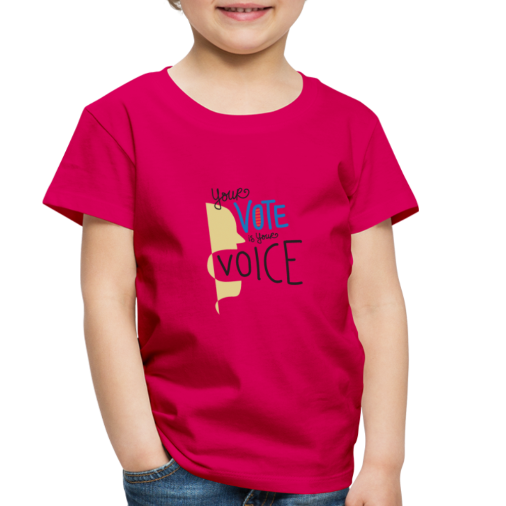 Shout II - Toddler Premium T-Shirt - dark pink