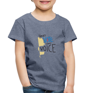 Shout II - Toddler Premium T-Shirt - heather blue