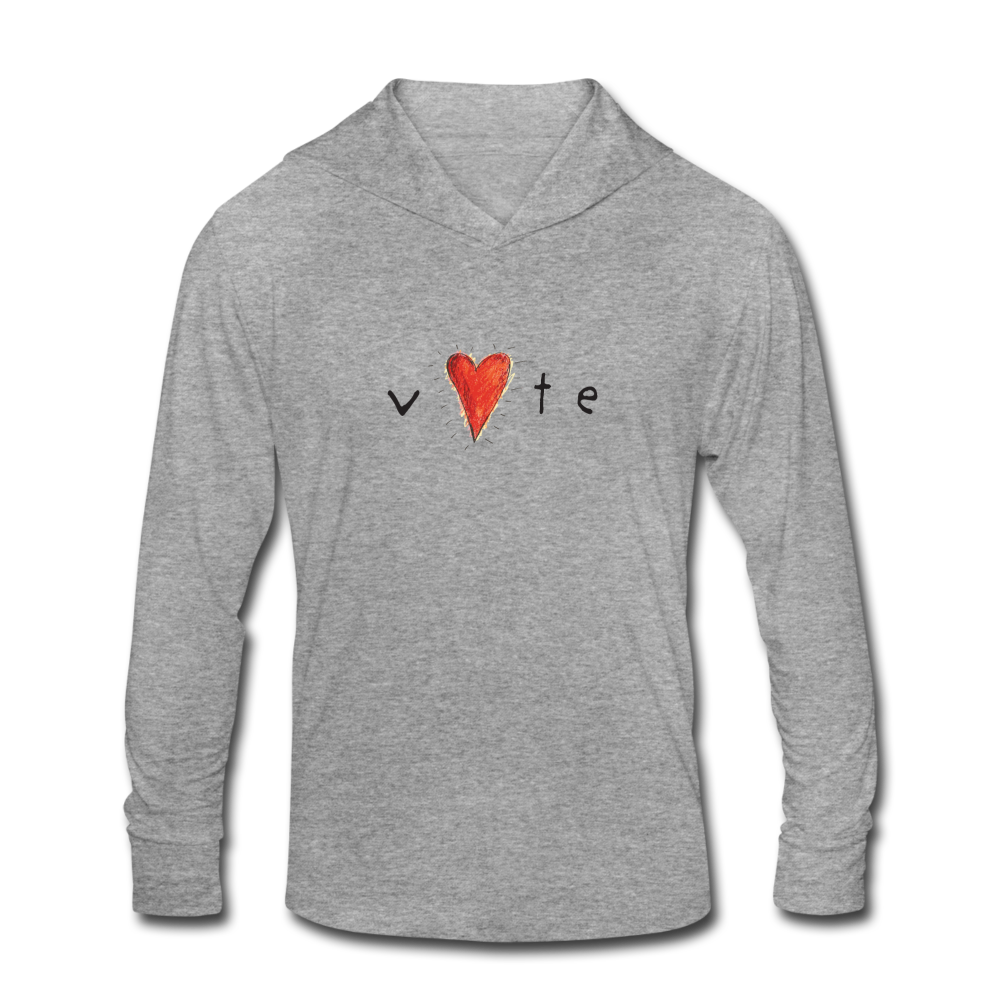 Heartbeat  - Unisex Hoodie Shirt - heather gray