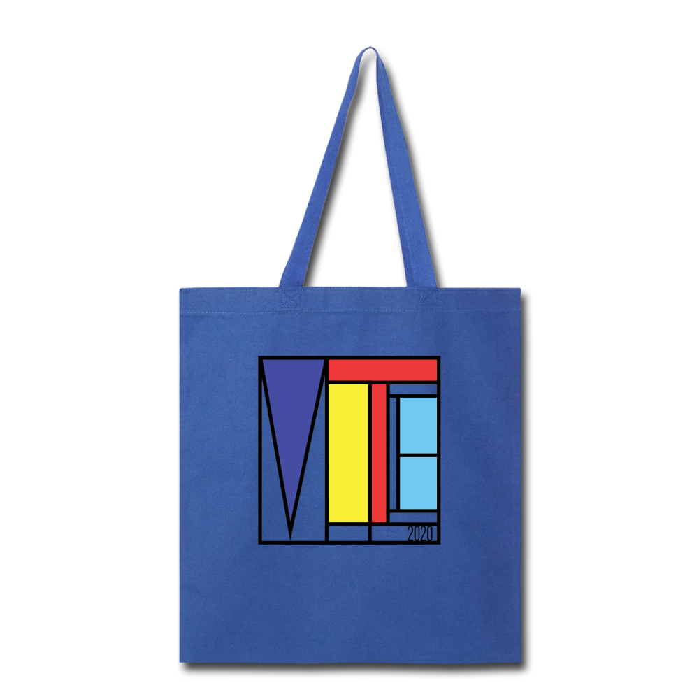 Vote Art - Tote Bag - royal blue