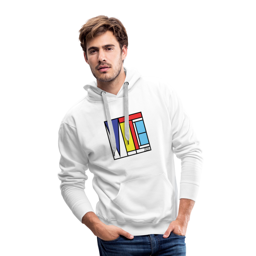 Vote Art - Men's Premium Hoodie - white