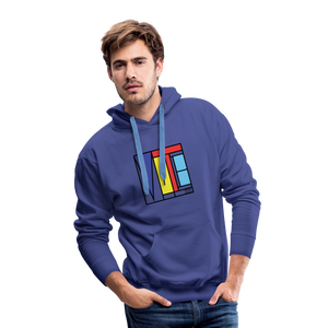 Vote Art - Men's Premium Hoodie - royalblue