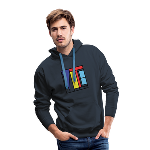 Vote Art - Men's Premium Hoodie - navy